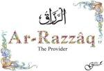 Ar-Razzaaq- The provider